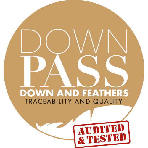 Downpass: it provides a traceable way of down and feather and it also ensures the welfare of the animals