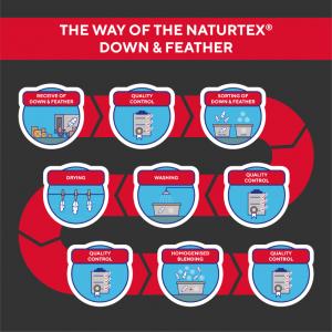 Naturtex Down process