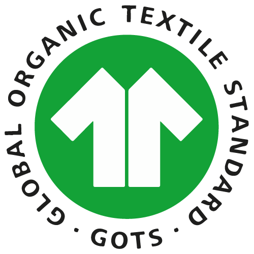 The Global Organic Textile Standard (GOTS) is the worldwide leading textile processing standard for organic fibres, including ecological and social criteria, backed up by independent certification of the entire textile supply chain.