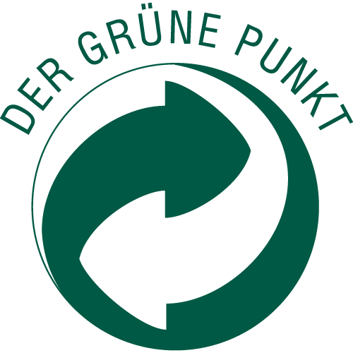 "The ""Grüne Punkt"" is protected worldwide and is mainly used in Europe as a financing symbol for participation in dual collection and recycling systems."